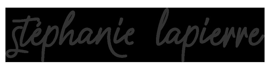 Logo Stéphanie Lapierre